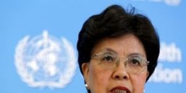 WHO Director-General Chan attends a news conference on Zika in Geneva