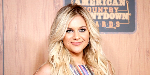 Kelsea Ballerini poses in the press room at the 2016 American Country Countdown Awards at the Forum on Sunday, May 1, 2016 in Inglewood, Calif. (Photo by Danny Moloshok/Invision/AP)
