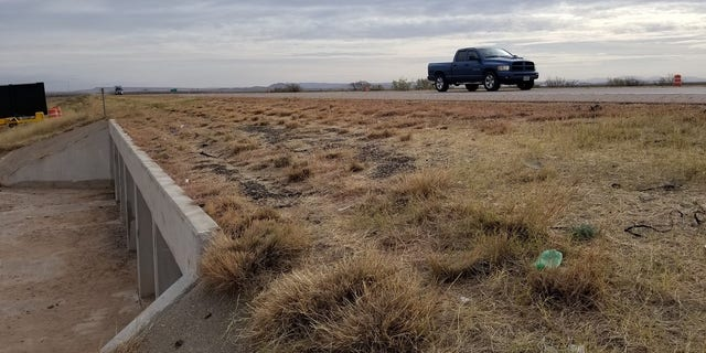 Border Patrol agent Rogelio Martinez and his partner were found in this culvert in November. Martinez died from his injuries.  (Brandon Judd/NBPC)