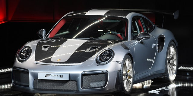 2018 Porsche 911 GT2 RS tops out at 211 mph.