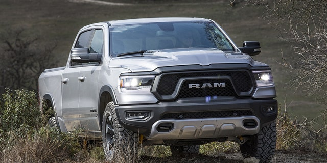 The 2019 Ram Rebel gets a milder off-road package than the TRX will deliver.