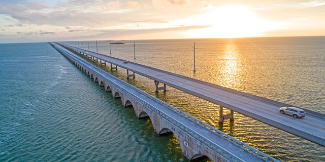 The highway extends U.S. Route 1 through the Florida Keys and runs all the way to Key West.