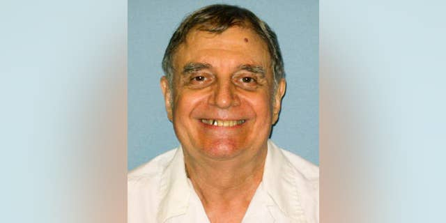 FILE - This undated photo, provided by the Alabama Department of Corrections, shows Tommy Arthur, in a photo taken at the Holman Correctional Facility in Atmore, Ala. The U.S. Supreme Court has turned down a long shot request to reconsider the appeal of Arthur scheduled to be executed by lethal injection May 25, 2017, for the 1982 slaying of Troy Wicker. Justices on Monday, April 24, 2017, refused the rehearing request by Arthur. (Alabama Department of Corrections via AP, File)