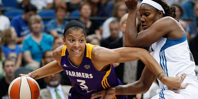 Candace Parker was the star at Tennessee.