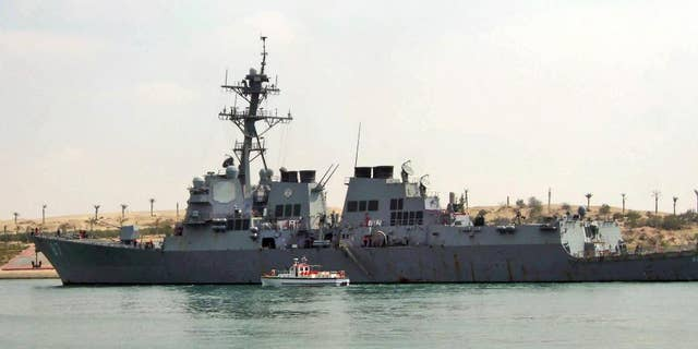 The USS Mason in 2011.