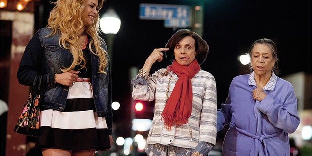 "Valerie Harper stars in the short film ""My Mom and the Girl""."