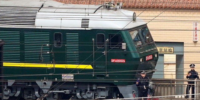 The train reportedly left by Tuesday, making the trip less than 24 hours.