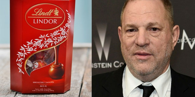 The film studio allegedly canceling a Lindt-sponsored event in the wake of the Harvey Weinstein scandal and failed to refund the chocolate company.