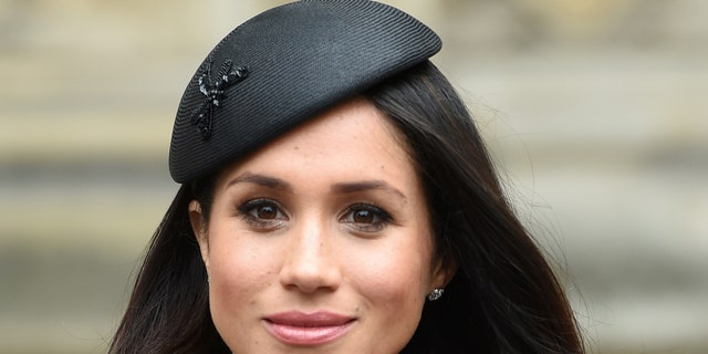 Meghan Markle, the fiancee of Britain's Prince Harry.