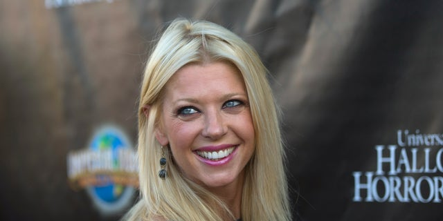Tara Reid, pictured here in 2014, was reportedly removed from a Delta flight after she complained about her seat and not receiving a pillow on Monday, according to TMZ.
