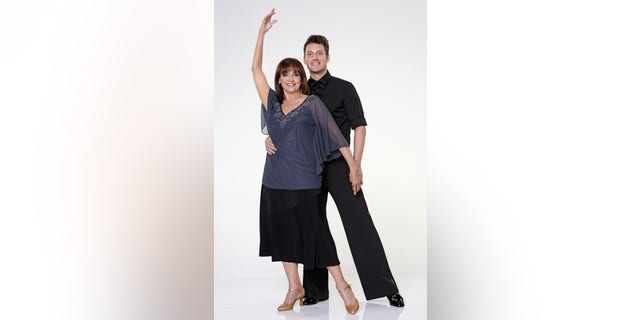 "Valerie Harper partnered with Tristan Macmanus in ""Dancing with the Stars."""