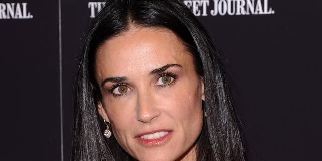 """Demi Moore at the premiere of """"Margin Call"""" in New York City onOct. 17, 2011."""