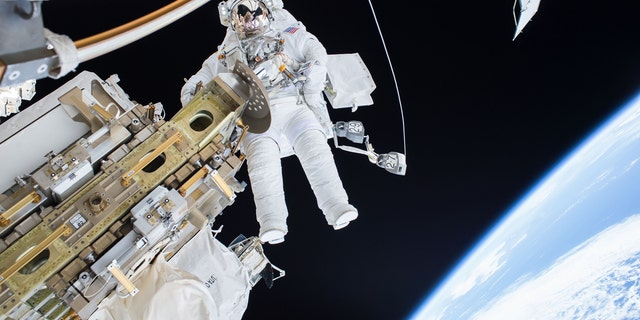 Christmas isn't going to be out of this world for the astronauts in the International Space Station --but it doesn't seem too bad.