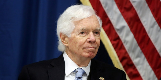 Sen. Thad Cochran, R-Miss., announced on March 5 that he will resign effective April 1 because of health concerns.