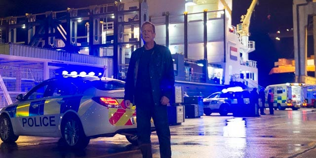 Bloodied, but unbowed: Kiefer Sutherland as Jack Bauer on '24: Live Another Day' (Fox Broadcasting)
