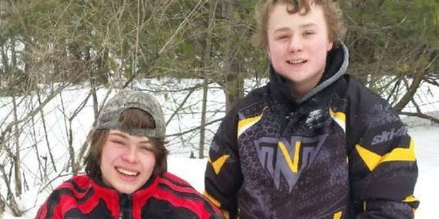 Ty Howard-Gotto and Jonah May, both 15, were reportedly expected to arrive at their grandfather's camp late Monday night.