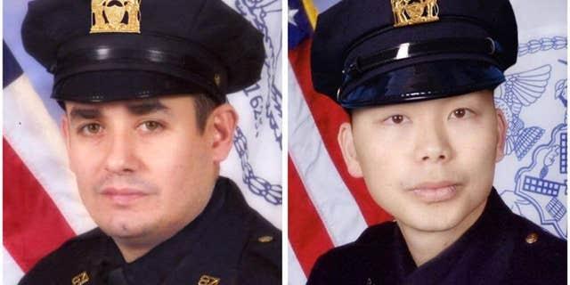 Weijian Liu and his partner Rafael Ramos were shot and killed in 2014.