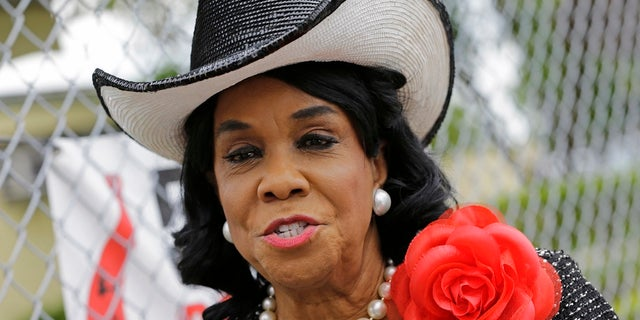 "Rep. Frederica Wilson is standing by her statement that President Trump told Myeshia Johnson, the widow of Sgt. La David Johnson killed in an ambush in Niger, that her husband ""knew what he signed up for."""