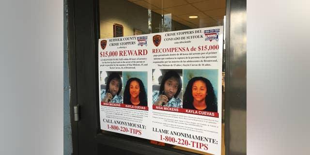 Kayla Cuevas, 16, and her friend Nisa Mickens, 15, were killed by MS-13 members in Brentwood, N.Y. in September 2016.