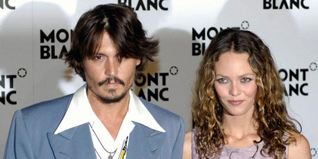 Johnny Depp and Vanessa Paradis (REUTERS)