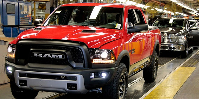 The Warren Truck Assembly plant builds the last-generation Ram 1500 pickup.