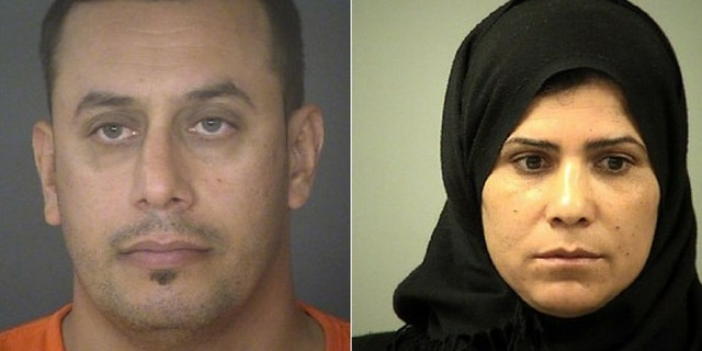 Abdulah Fahmi Al Hishmawi, 34, and Hamdiyah Saha Al Hishmawi, 33, are accused of abusing their daughter after she refused an arranged marriage.