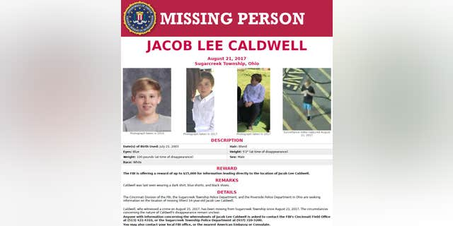 The FBI put out a reward for anyone leading to Jacob.