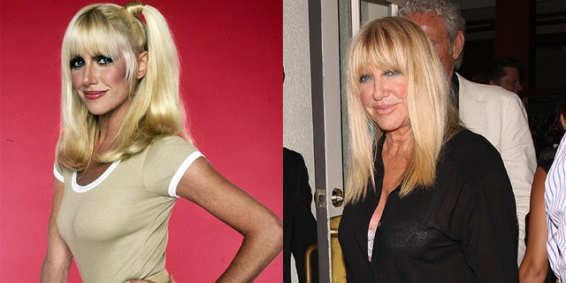 Three's Company star Suzanne Somers.