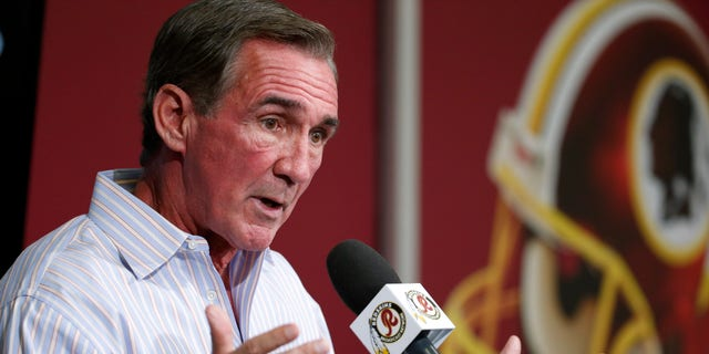 Washington Redskins head coach Mike Shanahan speaks during a media availability at their NFL football training facility, Wednesday, Dec. 11, 2013, in Ashburn, Va. Kirk Cousins will start for the Washington Redskins on Sunday, and Robert Griffin III will be the No. 3 quarterback behind Rex Grossman. (AP Photo/Alex Brandon)
