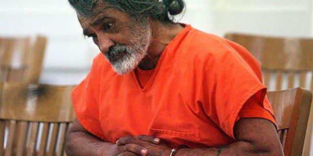 Dec. 29, 2008: Robert E. Aragon, 55, appeares in court in Shoshone, Idaho.