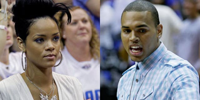 Chris Brown and Rihanna both watched Game 4 of the NBA finals last Thursday, but did not sit together.