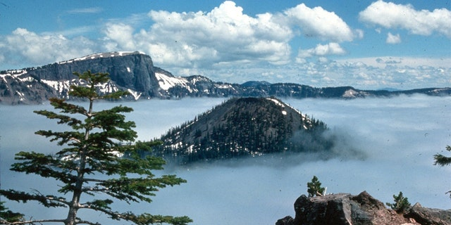The collapse of Mount Mazama (one of the largest eruptions ever) created Crater Lake thousands of years ago.