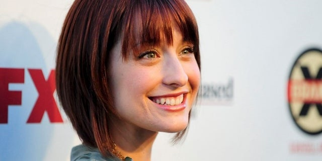 """Smallville"" actress Allison Mack was arrested Friday for her alleged involvement in sex slave cult Nxivm."