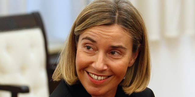Federica Mogherini, the European Commission's high representative for foreign affairs and security policy.