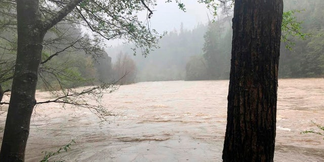 April 12: File photo shows the Eel River in Northern California.