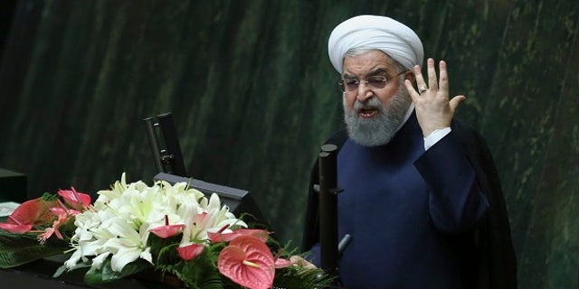 """Iranian President Hassan Rouhani warned last week the country could ramp up its nuclear program and quickly achieve a more advanced level if the U.S. continues """"threats and sanctions"""" against his country."""