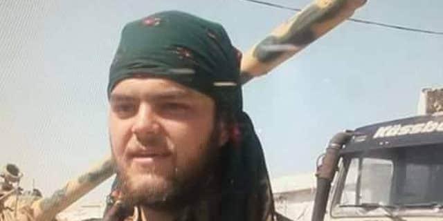 British YPG volunteer, Aiden Aslin