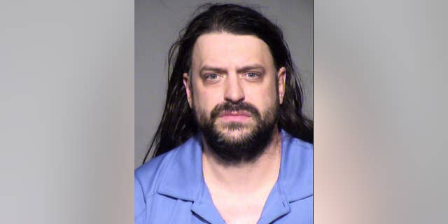 This undated booking photo provided by the Maricopa County Sheriff's Office shows Stephen B. Martin. Authorities said the Phoenix man arrested in a wrong-way freeway accident in which a fire department dispatcher was fatally injured had a blood-alcohol level nearly four times the legal limit. The Arizona Department of Public Safety also said that 39-year-old Martin said after the Tuesday morning accident that he knew he was drunk and shouldn't be driving.   (AP Photo/Maricopa County Sheriff's Office)