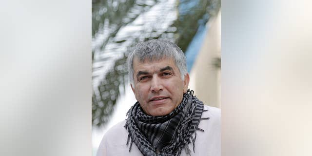 Nabeel Rajab in 2015.