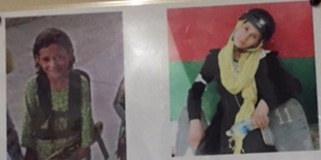 Photo of Mursal's two sisters who died in the Taliban suicide attack
