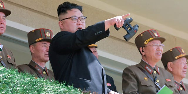 North Korean Leader Kim Jong Un in April.
