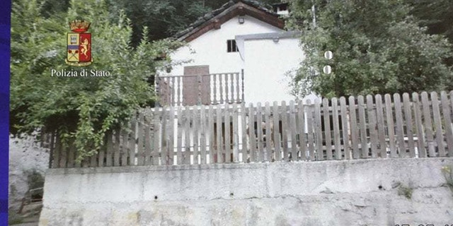 The house where a man identified as Lukasz Pawel Herba allegedly held a young British model.