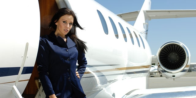 She said one stewardess got caught trying to drum up business as a prostitute on a flight.