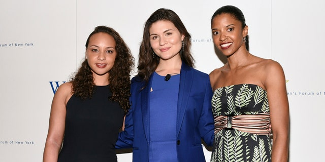 """Jasmine Cephas Jones, Phillipa Soo and Renee Elise Goldsberry from the original cast of """"Hamilton"""" will perform at this year's Superbowl."""