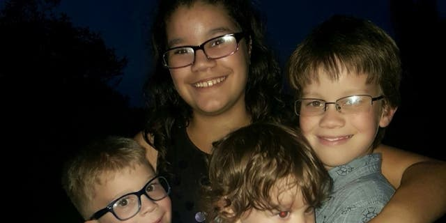 Dove, 1, Aidan, 6, Lillia, 10, and Irayan, 12 were shot and killed by Lindsey on Monday.