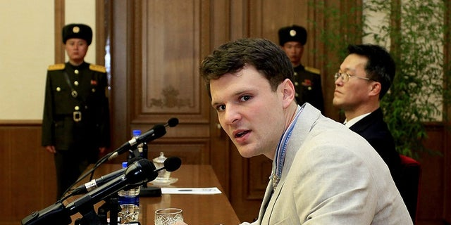 American student Otto Warmbier died after falling into a coma at a North Korean prison.