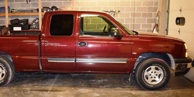 Harter's car was found on the shoulder of the highway.