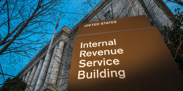 April 13, 2014: This file photo shows the headquarters of the Internal Revenue Service (IRS) in Washington.