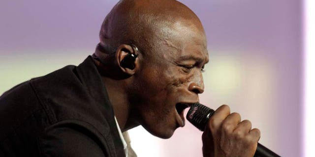 Seal performs in Jurmala on July 26, 2011. The singer has a new album coming out titled 'Standards.'