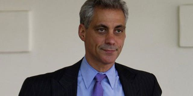 Former White House Chief of Staff Rahm Emanuel. (Reuters Photo)